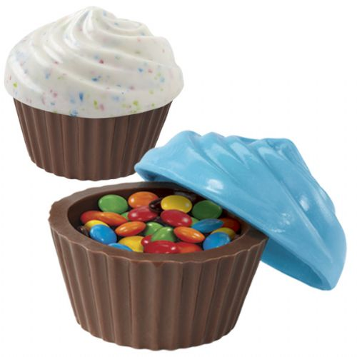 CUPCAKE CANDY CONTAINER MOLD